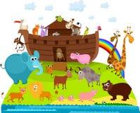 Noahs Arche Lizenzfreie Stockbilder