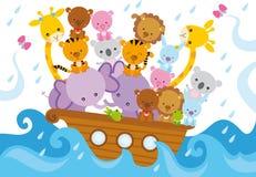 Noahs ark vector illustration