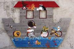 Noahs Ark Flood Royalty Free Stock Photos