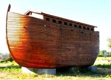 Noahs Ark model. Constructed Noah\'s ark model in Tukey Royalty Free Stock Images