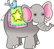 NOAHS ELEPHANT Royalty Free Stock Photography