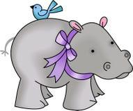 NOAHS HIPPO Stock Image