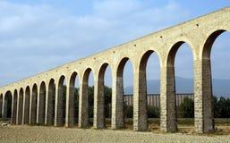 Noain's Roman aqueduct, Navarre, Spain. Royalty Free Stock Image