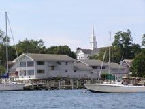 Noank, Connecticut Foto de Stock Royalty Free