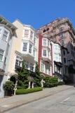 Nob Hill, San Francisco. San Francisco, California, United States - beautiful old architecture in Nob Hill area Stock Photos