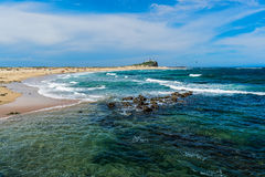 Nobby Beach in Newcastle NSW Australia. Stock Photography