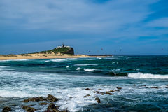 Nobby Beach in Newcastle NSW Australia. Stock Photo