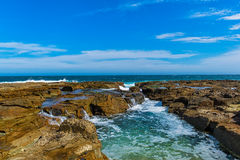 Nobby Beach in Newcastle NSW Australia. Stock Images