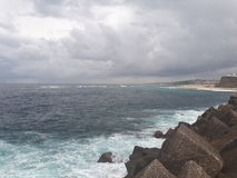 Nobby& x27;s beach and headland Newcastle Australia Stock Photos