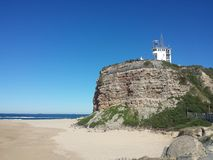 Nobbys Headland and Beach, Newcastle Australia Stock Photo