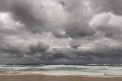 Nobbys Strand stockfoto