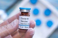 Nobel coronavirus covid-19 vaccine vial a illustrative picture