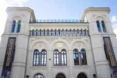 Nobel fredmitt Royaltyfri Foto