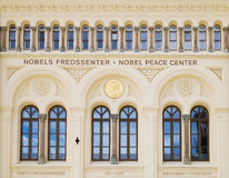 Nobel fredmitt i Oslo, Norge Royaltyfria Foton