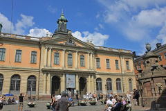 Nobel Museum in Stockholm, Sweden Royalty Free Stock Photography