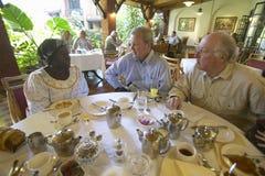 Nobel Peace Prize winner, Wangari Maathai at Norfolk hotel meeting in Nairobi, Kenya, Africa Stock Photo