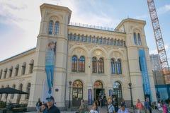 Nobel pokoju centrum obraz stock