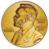Nobel Prize. Illustration of the nobel prize royalty free illustration