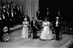 NOBEL PRIZE CEREMONY IN STOCKHOLM SWEDEN Royalty Free Stock Image
