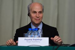 Nobel Prize Laureate in chemistry Roger Kornberg Stock Images