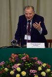 Nobel Prize Laureate in physics Zhores Alferov. St. Petersburg, Russia - June 22, 2015: Nobel Prize Laureate in physics Zhores Alferov during Saint Petersburg Stock Photo