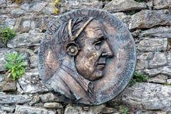 Nobel zwycięzcy guglielmo marconi statua obrazy stock