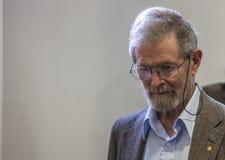 Nobelpreisträgerprofessor Dr. George E. Smith Lizenzfreies Stockbild