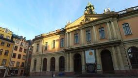 Nobelprismuseum, Stockholm, Sverige stock video