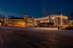 Nobels Fredssenter W Oslo Obraz Royalty Free