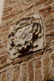 Nobiliar-Emblem in Treviso Stockfotografie