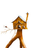 Noble bird house Stock Photos
