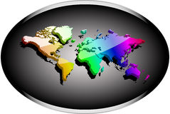 Noble business 3d world Stock Image