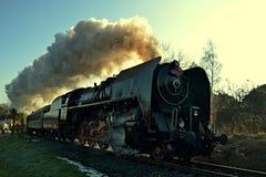 Noble de locomotive à vapeur image stock