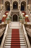 Noble Entrance Hall Stock Photo