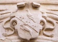 Noble heraldic symbol Royalty Free Stock Image