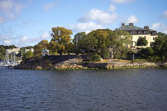 Noble residence in Stockholm. (Prince Eugen Waldemarsudde on the island Djurgarden Stock Photos