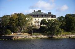 Noble residence in Stockholm. (Prince Eugen Waldemarsudde on the island Djurgarden Stock Photography