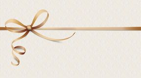 Noble Ribbon Ornaments Wallpaper Stock Photo