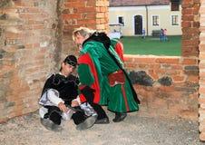 Nobleman Puta found poisoned burgrave Stock Image