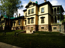 Nobles House. Park of polish Manor Pan. Nobles House royalty free stock photo