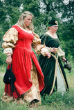 Noblewomen - Kluszyn 1610 / 2010 Royalty Free Stock Photography