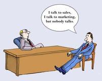Noboby komunikuje ilustracji