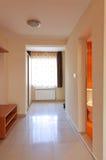 Nobody beautiful corridor modern style Stock Image