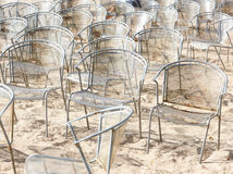 Nobody and chairs Royalty Free Stock Image