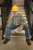 Nobody Is Hiring Worker Laid Off Royalty Free Stock Photos