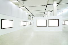 Nobody in the museum interior Royalty Free Stock Images
