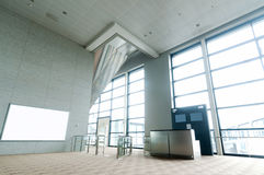 Nobody s waiting hall Royalty Free Stock Images
