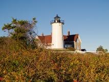 Nobska latarnia morska, Massachusetts, usa zdjęcia stock