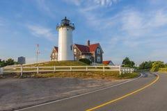 Nobska lighthouse Stock Photos