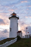 Nobska Lighthouse in Cape Cod, Massachusetts Stock Photos